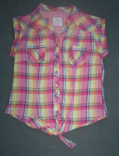 Atmosphere Waist Gingham Tops & Shirts for Women