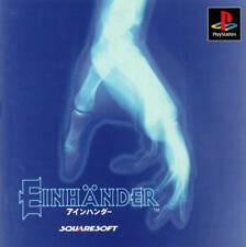 EINHÄNDER  EINHANDER  PS1 Playstation 1 NTSC-J JPN JAP  GREAT Shoot 'Em Up SHMUP