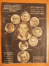 Miroir Sprint N° 160 du 27/06/1949-Les équipes au départ du Tour de France