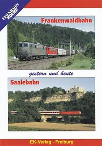 EISENBAHNKURIER - DVD - FRANKENWALDBAHN / SAALEBAHN - gestern und heute