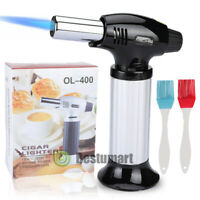 Cooking Torch Culinary Food Blow Chef Kitchen Creme Brulee Butane Flame Lighter