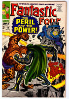 FANTASTIC FOUR #60 in VF a 1966 Silver Age Marvel comic DOC DOOM & SILVER SURFER