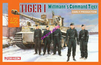 DRAGON 1/72 7575 Tiger I Early Production, Wittmann's Command Tiger