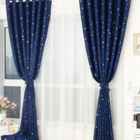 Blackout Heavy Thick Grommet Window Curtain Panel Bedroom Living Room Lined New