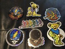 Greateful Dead Vending Machine Stickers Lot of 7 New