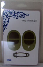 BABY SHOES AND PIN EPIC REVOLUTION DIE QUICKUTZ lifestyle craft &
