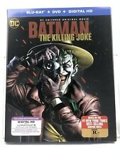 Batman: The Killing Joke (Blu-ray/DVD, 2016, Includes Digital Copy UltraViolet)