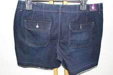 gloria vanderbilt Carol Relesehem Shorts Size 16 NEW NWT  Denim