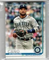 2019 Topps Seattle Mariners Team Set Series 1 and 2