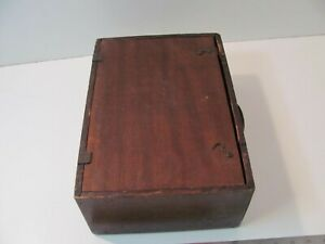 ANTIQUE VINTAGE PROJECTOR IN WOODEN BOX UNBRANDED NATIONAL KEYSTONE CINE MORTYS