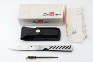 AL MAR SECRET SERVICE KNIFE WITH BOX