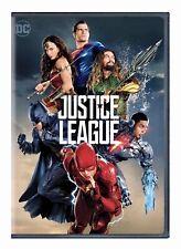 Justice League (Dvd, 2018) Brand New Factory Sealed Gal Gadot Ben Affleck Dc