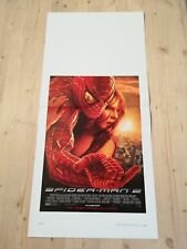 SPIDER-MAN 2 Locandina Film 33x70 Poster Originale Cinema