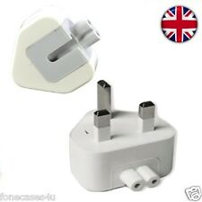 UK Mains Apple iPad iPhone 1/2/3 Plug Adaptor Removeable Connector for end top