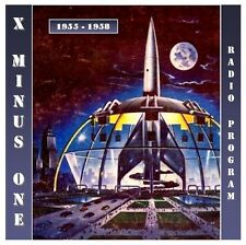 Old Time Radio X Minus One 122 Episodes in MP3 on DVD