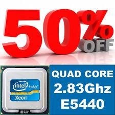 CPU 2.83 GHZ HP XEON E5440 QUAD CORE 1333MHZ 12MB L2 CACHE code SLAP2