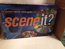 Original Scene it? DVD Family Board Game Movie Trivia Game EUC