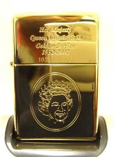 Limited Edition Golden Jubilee Zippo Lighter 2002