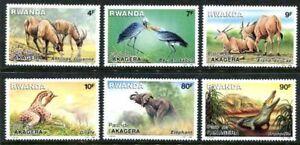 Rwanda1262-1269a, MNH, Wild Animals, s9042