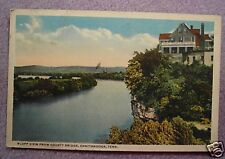 VIEW FROM COUNTY BRIDGE, CHATTANOOGA, TENNESSEE 1915