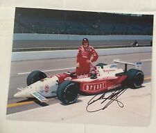 Arie Luyendyk Signed Indy 500 Indianapolis Track Record 1996 Auto 8 X 10 Photo