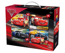Disney Cars 3 Lightning McQueen Jigsaw Puzzle 4:1 Set 12,16,20 & 24 Pieces 05504