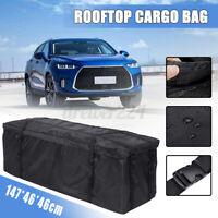 Large Waterproof Cargo Luggage Bag Basket Car Roof Top Rack Carrier Travel Pack