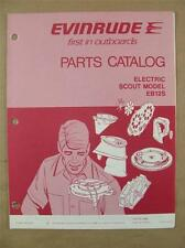 1974 OMC EVINRUDE EB12S ELECTRIC OUTBOARD TROLLING MOTOR PARTS CATALOG 279677