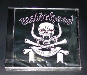 MOTÖRHEAD MARCH OR DIE CD SCHNELLER VERSAND NEU & OVP