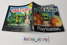 Sony Playstation PS1 - Army Men Air Attack - Notice / Instruction Manual