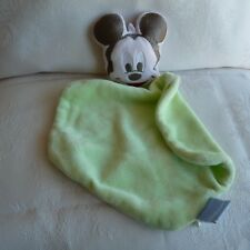 Doudou Souris Mickey Disney - Vert