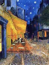 VAN GOGH CAFE TERRACE PLACE DU FORUM ARLES 1888 OLD ART PRINT 12x16 inch 2782OM