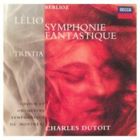 Berlioz-Symphonie Fantastique/Lélio/Tristia:C.Dutoit,Orch. Symph. de Montreal
