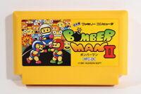 Bomberman II 2 Nintendo FC Famicom NES Japan Import US Seller F2542