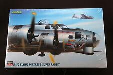 XM125 HASEGAWA 1/72 maquette avion 04066 B-17G Flying Fortress Super Rabbit