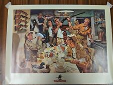 Winchester Hunter's Breakfast advertising print 24x18 mint