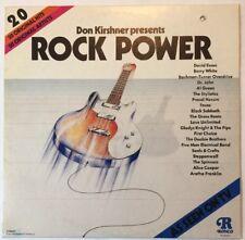 Ronco - Don Kirshner presents Rock Power - EX Vinyl LP 20 Original Artists