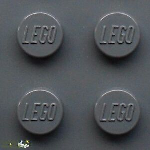 LEGO Plates in Dark Stone Grey - Choice New