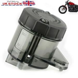 Universal Motorcycle Motorbike Front Brake Fluid Reservoir Oil Tank Cup Black