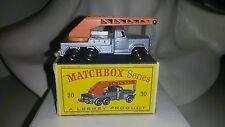 "Matchbox/Lesney 1-75 Modellauto RW No.30b Magirus Crane "" Uranus "" mit OVP BPW"