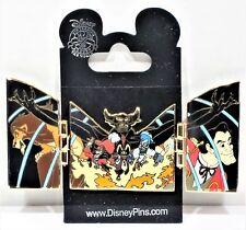 Disney Chernabog & Villains Guys Scar Jafar Captain Hook Hades Hinged Pin RARE
