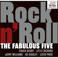 Various - The Fabulous Five - Rock n' Roll (2017) 10CD Box Set  NEW  SPEEDYPOST