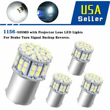 4X 1156 50SMD WhiteTurn Signal Backup LED Light Bulb P21W 1141 1073 1206 7506