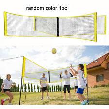 4-Sided Cross Volleyball Net Volleyball Net Portable Standard Net Random Color