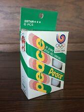 1988 Seoul Korea Summer Olympics Peace Ping Pong Balls Table Tennis Hodori 88