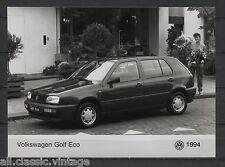 PRESS - FOTO/PHOTO/PICTURE - Volkswagen Golf Eco 1994