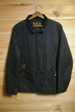 Men's Barbour Quilted Jacket Black Medium