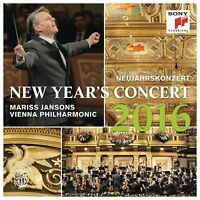 Mariss Jansons  - New Year's Concert 2016 / Neujahrskonzert 2016 [NEW] 2 CDs