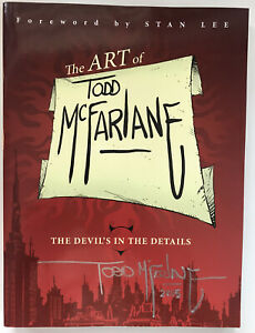 The Art of Todd McFarlane, Signed By Todd McFARLANE, Softcover