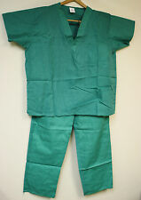 "Scrubs Set PALE GREEN Light Weight SUMMER Institutional Medical  XL - 30"" INSEAM"
